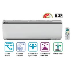 Non Inverter 3 Star 1 Ton Split Air Conditioner_ FTL35, non inverter, cooling only, split ac