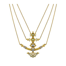 Amrapali - Baroque Trident Necklace