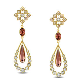 Suneet Varma - Enchanted Forest Star Drop Earrings