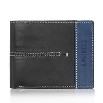 Laurels Bloke II Men's Wallet (Lw-Blk-II-0203), black