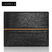Laurels Titan Men's Wallet (LW-TT-0209), black and brown