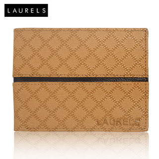 Laurels Cross II Tan Men's Wallet (LW-CRS-II-0602)...