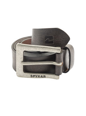 Spykar Leather Belt, xl,  ash