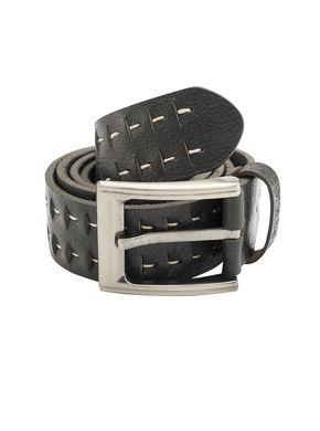 Spykar Leather Belt, xl,  black