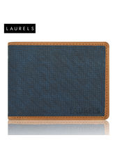 Laurels Dexter Men's Wallet (LW-DXTR-0306), Blue A...