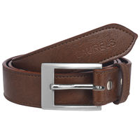 Laurels Janta Men's Belt (LB-Jt-09), brown and black