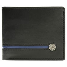 Fastrack Black Leather Men Wallet (C0368LBK01)