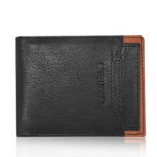 Laurels Martian Men's Wallet with Additional Card (Lw-Mrtn-0206), black