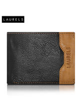 Laurels Tusk Men's Wallet (LW-TSK-0206), Black And...