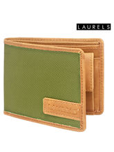 Laurels Colors Men's Wallet (Lw-Clr-0401), Green A...