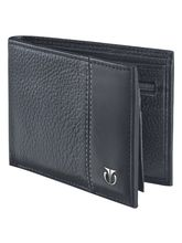 Titan Genune Leather Wallet for Men (TW109LM1BK), black