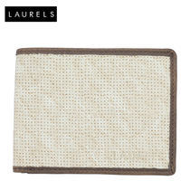 Laurels Dexter Men's Wallet (LW-DXTR-0109), beige and brown