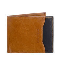 Laurels Tan Color Semi Formal Mens Wallet With Additional Flap (LWT-MRTN-0602)