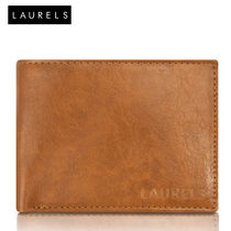 Laurels Aspire Men's Leather Wallet (LW-Asp-06), tan