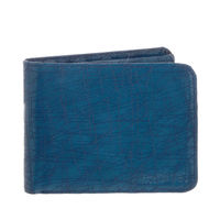 Laurels Blue Color Semi Formal Mens Wallet (LWT-HRNT-03)