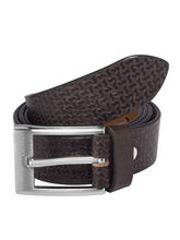 Laurels Genuine Leather Classic Men's Belt (LB-CL-09), brown