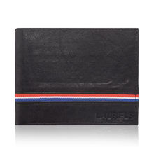 Laurels Raven III Men's Wallet (Lw-Rvn-III-0210), black