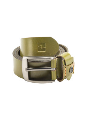 Spykar Leather Belt, xl,  olive