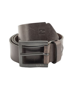 Spykar Leather Belt, 2xl,  dark brown
