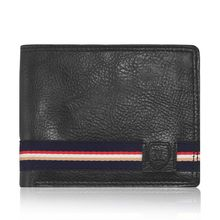 Laurels Aristocrat Men's Wallet (Lw-Ast-02), black