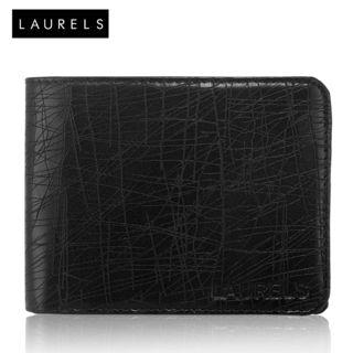 Laurels Hornet Men's Wallet (Lw-Hrnt-02), Black