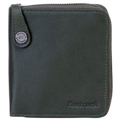 Fastrack Leather Unisex Wallet (C0333LGR01), green