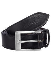Laurels Janta Men's Belt (LB-JT-02), Black And Bro...
