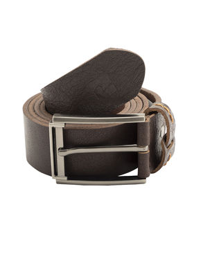 Spykar Leather Belt, m,  brown