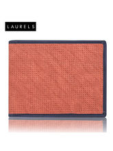 Laurels Dexter Men's Wallet (LW-DXTR-1003), Red An...