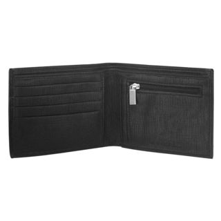 Laurels Cross Men's Wallet (LW-CRS-02), Black
