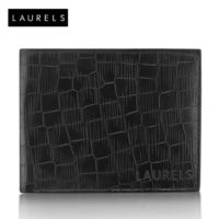 Laurels Hunter Men's Wallet (Lw-Htr-02), black