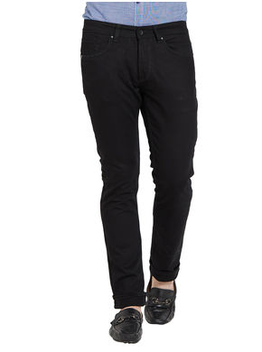 Low Rise Narrow Fit Jeans,  black, 36