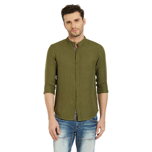 Solid Shirt In Slim Fit