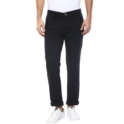 Solid Flat Front Chinos