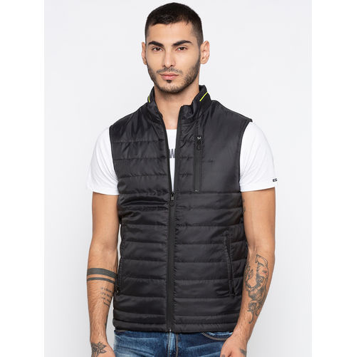 Spykar Solid Relax Fit Jackets
