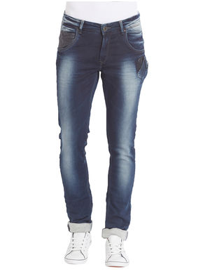 Skinny Low Rise Narrow Fit Jeans,  dark blue, 34