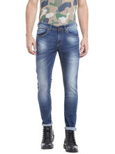 Low Rise Tight Fit Jeans, 28, blue
