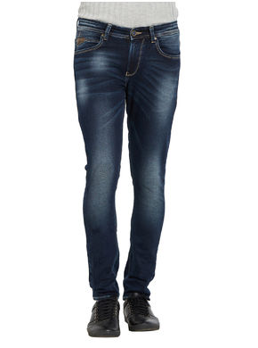 Ultra Slim Low Rise Tight Fit Jeans,  dark blue, 36