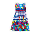 Bella Moda Girl's Casual Dresses (OM673), multicolor, 12 13 years