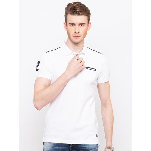 Spykar Polo Collar Slim Fit T-Shirts