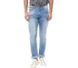 Low Rise Tight Fit Jeans, 34, light blue