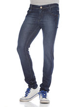 And You Blue Cotton With Stretchable Regular Fit Jean For Men, 28