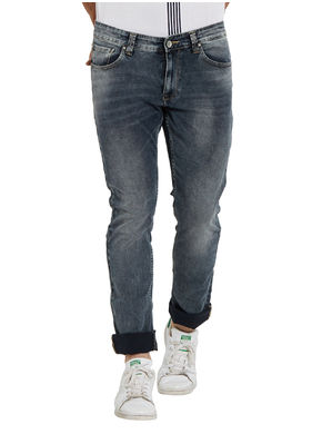 Low Rise Narrow Fit Jeans,  smoke, 32