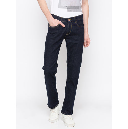 Spykar Low Rise Slim Thigh Tapered Leg Jeans