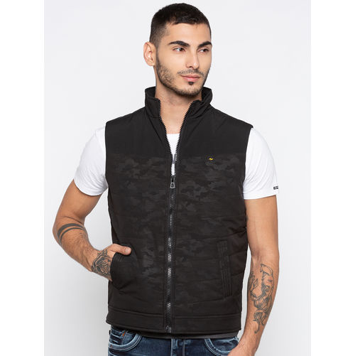 Spykar Self Design Relax Fit Jackets