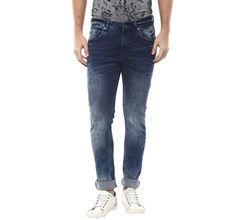 Low Rise Tight Fit Jeans, 36, dark blue