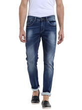 Low Rise Narrow Fit Jeans, 34, mid blue