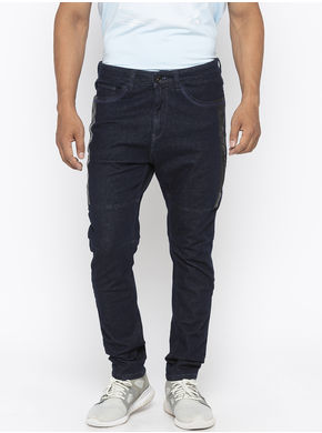 Spykar Low Rise Ultra Slim Thigh Narrow Leg Jeans,  raw blue, 38