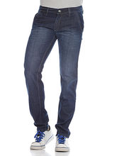 And You Blue Cotton Regular Fit Jeans For Men, 28