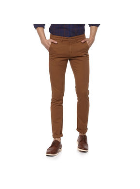 Solid Trousers,  sudan brown, 36